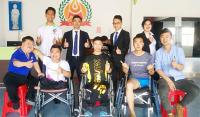 汇能科技深圳运营中心帮扶慰问点亮生命残疾人艺术团,传递正能量